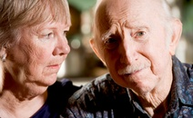 Newly diagnosed patient, anxious couple